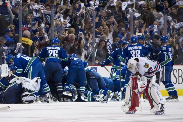 Vancouver Canucks: Top Moments from Their 2011 Playoff Run