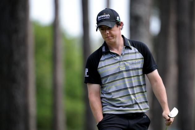 Masters 2012: Rory McIlroy and the Biggest Meltdowns in Golf History