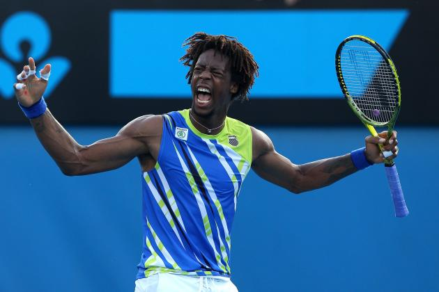 Gael Monfils: Ranking the 5 Most Impressive Shots of His Career