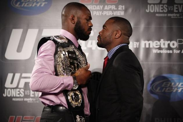 UFC 145 Results: Jones vs. Evans Fight Card