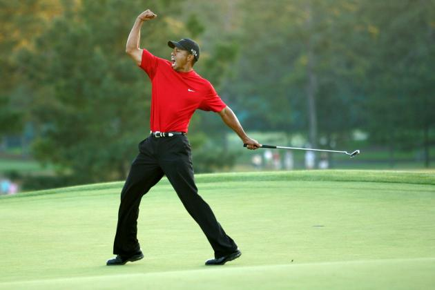 Masters 2012: 10 Most Memorable Moments in Championship Sunday History