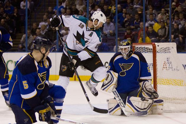 NHL Playoffs 2012: 6 Most Important Players in the Sharks vs. Blues Series