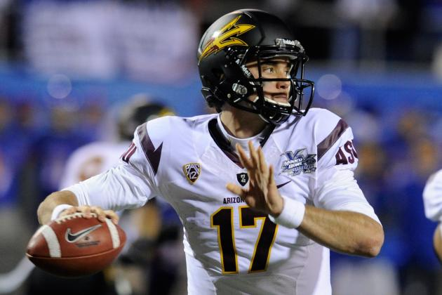 2012 NFL Draft: 6 Quarterbacks After Luck and Griffin Who Could Go First Round