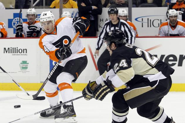 Philadelphia Flyers: Sizing Them Up with Pittsburgh for Their Playoff Battle
