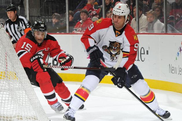 NHL Playoffs 2012: The 5 Biggest Matchups to Watch in the Panthers-Devils Series