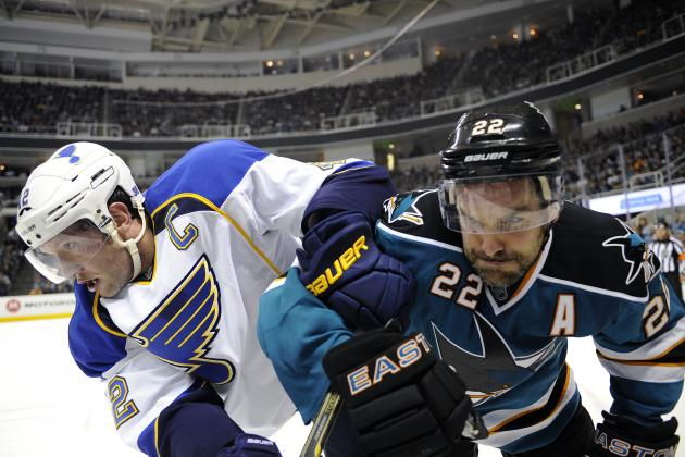 2012 NHL Playoffs: San Jose Sharks vs. St. Louis Blues Series Preview