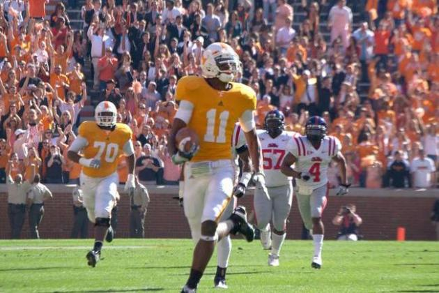 Tennessee Football: Analyzing the Big 3 Receivers