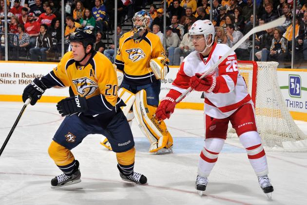 NHL Playoffs 2012: 5 Matchups to Watch for in the Nashville-Detroit Series