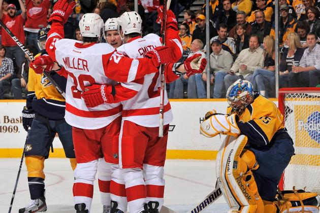 Detroit Red Wings: What Wings Need to Do to Beat Nashville
