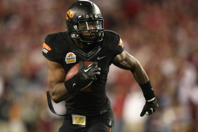 Big 12 Football 2012: Ranking the Conference's 10 Best Running Backs