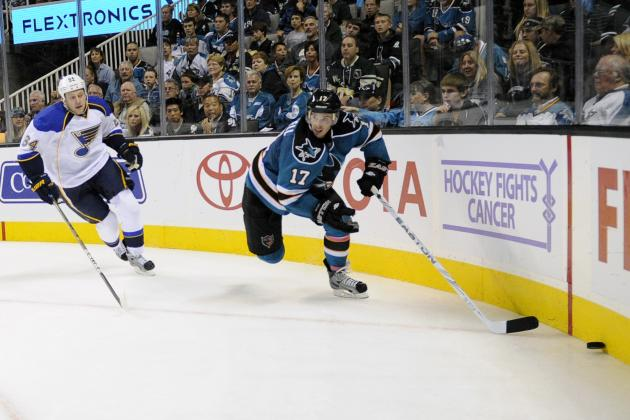 NHL Playoffs 2012: 7 Reasons the San Jose Sharks Will Upend St. Louis Blues