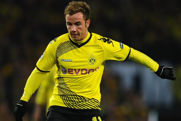 Mario Gotze: Borussia Dortmund Starlet's Top 7 Goals