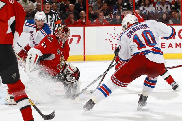 NHL Stanley Cup Playoffs 2012: Previewing New York Rangers vs. Ottawa Senators