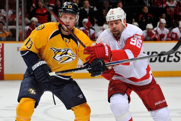 2012 NHL Playoffs: Detroit Red Wings vs. Nashville Predators Preview