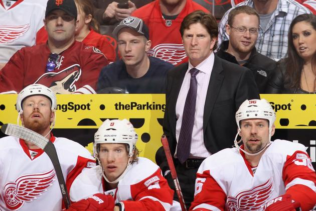 NHL Playoffs 2012: 3 Changes the Red Wings Need to Make Heading into Game 2