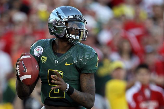 Oregon Football: 5 Reasons Why Darron Thomas Should Be Drafted