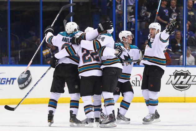 NHL Playoffs 2012: What the Season Series Between Blues and Sharks Have Shown Us