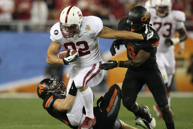2012 NFL Draft: The 5 Best Video Highlights of Stanford Cardinal TE Coby Fleener