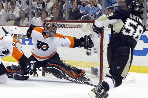 NHL Playoffs 2012: 7 Great Moments from Game 2 Between the Penguins and Flyers