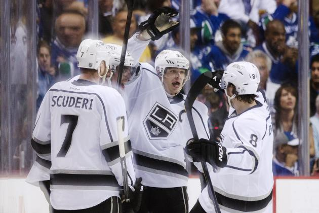 NHL Playoffs 2012: 6 Memorable Moments from Game 2 of Canucks vs. Kings