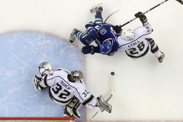 NHL Playoffs 2012: 1st-Round Studs and Duds