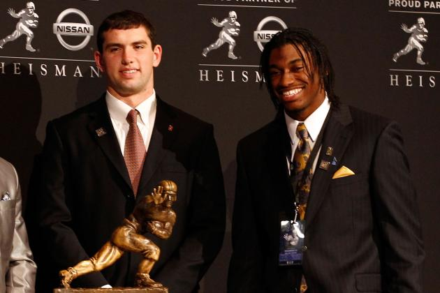 Andrew Luck vs. Robert Griffin III: How Past No. 2 Picks Fared Against No. 1