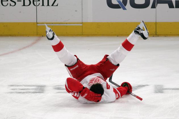 NHL Playoffs 2012: 5 Reasons the Red Wings Will Come Up Short