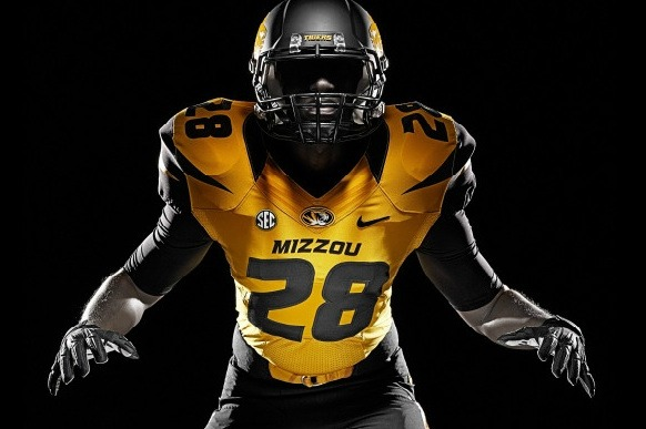 Mizzou Unleashes the Tiger in New Nike Football Jerseys