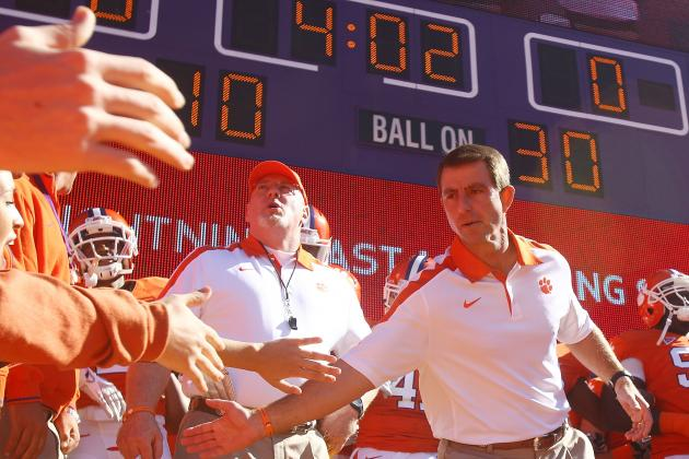 Clemson Football: Post-Spring Game 2-Deep Depth Chart