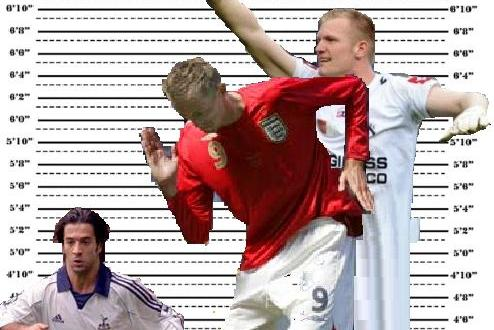 10 Best Ridiculously Tall Players in World Football