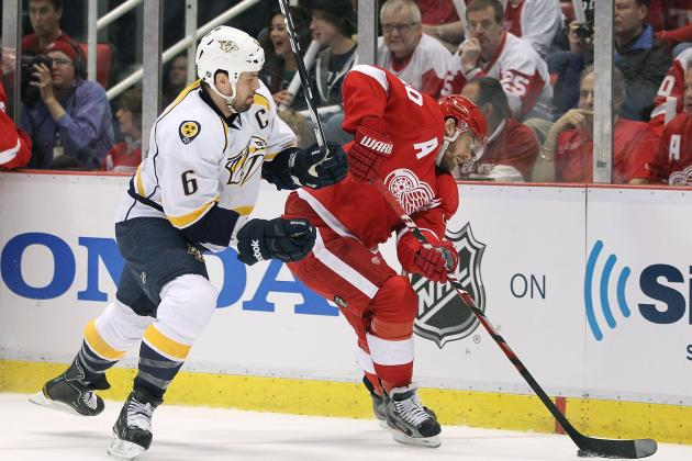 NHL Playoffs 2012: 6 Key Takeaways for the Detroit Red Wings Following Game 3