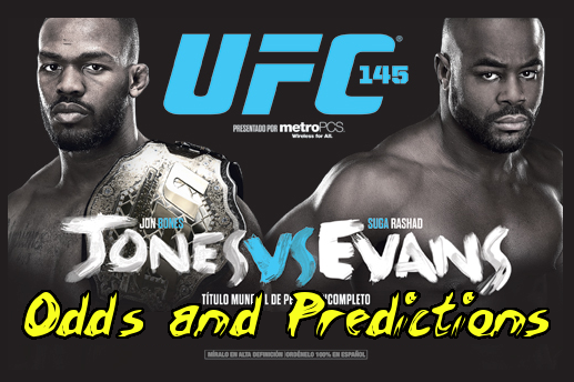 UFC 145: Odds and Predictions for the Main Card