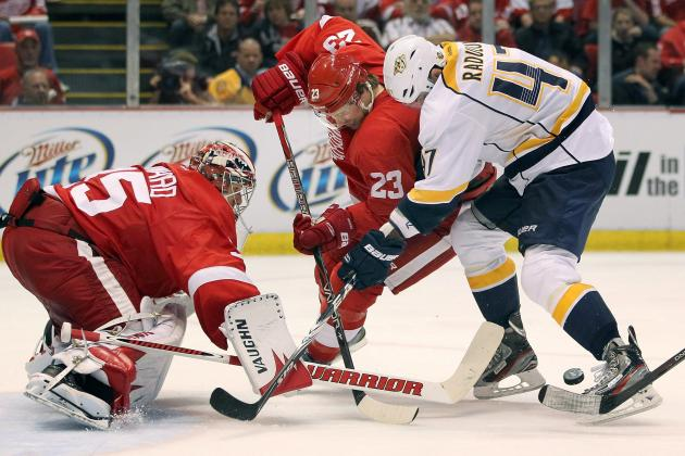 NHL Playoffs 2012: 4 Players Who Need to Step Up in the Predators vs Red Wings