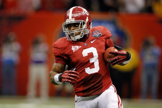 Cleveland Browns and the NFL Mock Draft: Why They Should Draft Trent Richardson