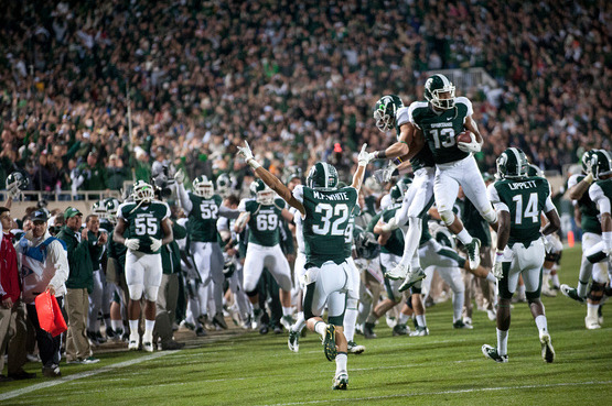 MSU Football: Spartan Fans Might Want to Consider Season Tickets for 2012
