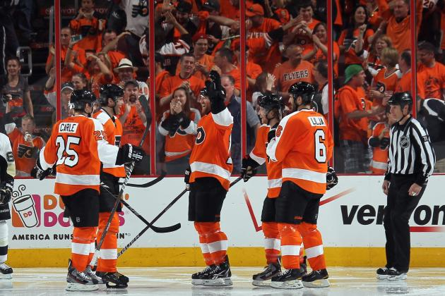 2012 NHL Playoffs: Philadelphia Flyers on Brink of Sweeping Pittsburgh Penguins