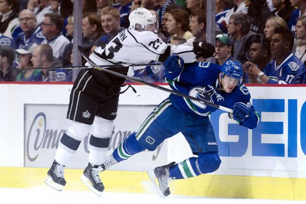 NHL Playoffs 2012: 3 Stars and 3 Bums from First 3 Games of Canucks-Kings Series