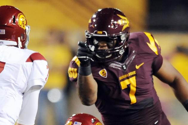 NFL Draft 2012: Vontaze Burfict and 5 Talented Players Who May Not Be Drafted