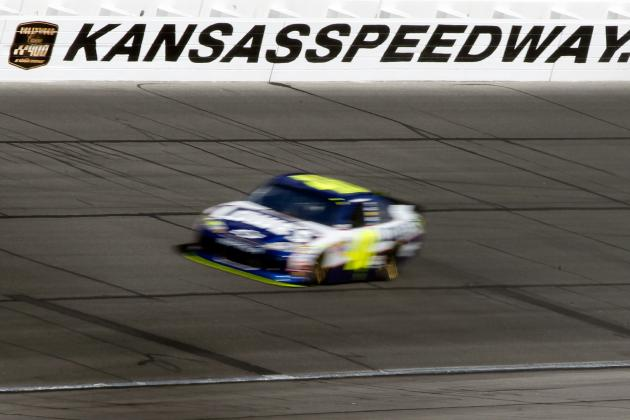 NASCAR Sprint Cup at Kansas: 10 Drivers Who'll Be in the Running at the STP 400