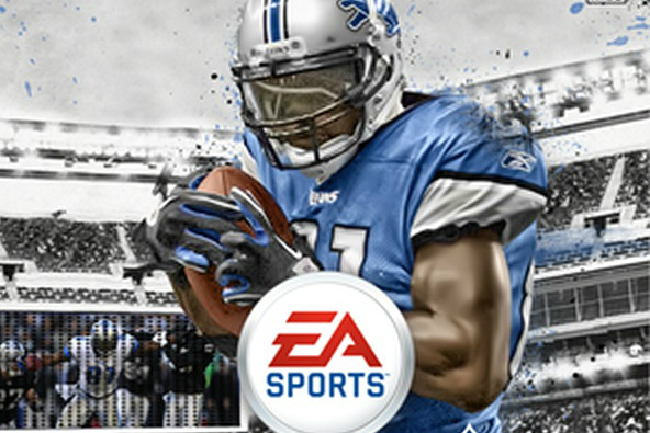Calvin Johnson: Madden 13 Cover Boy, Hoping to Avoid the Madden Curse