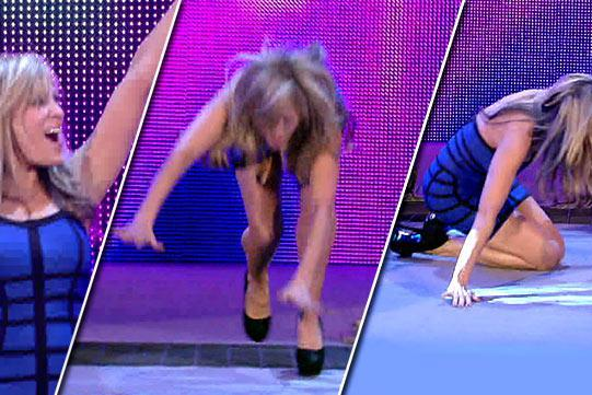 WWE's Lilian Garcia Trips over Words, Feet, Falls into Our Hearts
