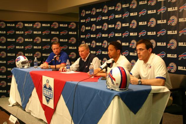 NFL Draft 2012: Breaking Down Buffalo Bills' Draft Luncheon Press Conference