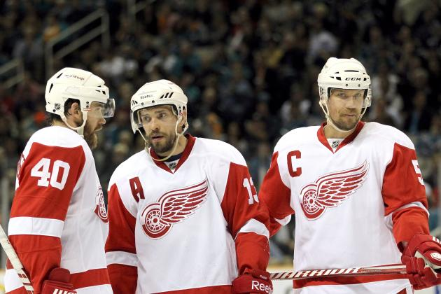 NHL Playoffs: The 5 Most Important Players in Game 5 for the Red Wings