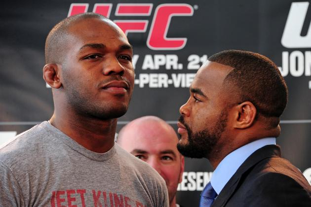UFC 145: Jon Jones and the 7 Best UFC Fighters 25 Years Old or Younger