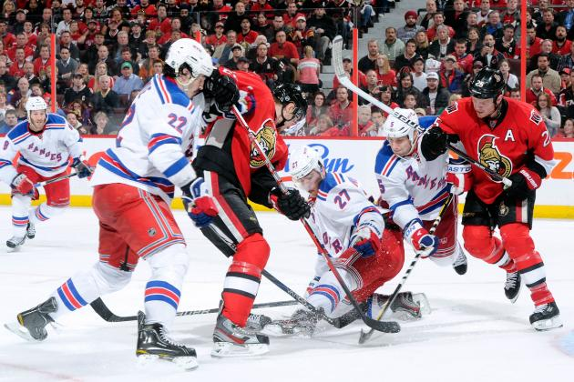 NHL Playoffs 2012: 4 Important Game 5 Storylines for Senators vs. Rangers Series