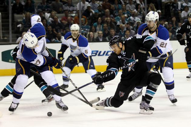 2012 Stanley Cup Playoffs: Top 5 Reasons San Jose Sharks Are Done