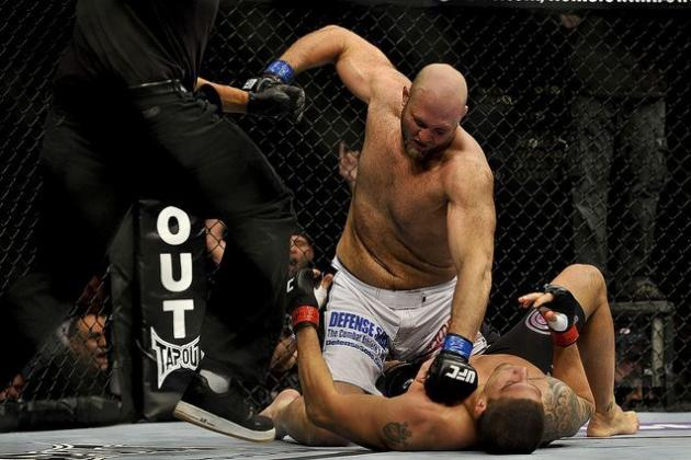 UFC 145: UFC Heavyweight Rankings After Ben Rothwell vs. Brendan Schaub