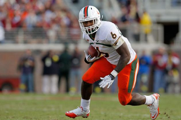 Lamar Miller: 6 Biggest Strengths and Weaknesses of 2012 NFL Draft Prospect
