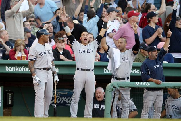 Best Images of the Weekend: New York Yankees Sweep of Boston Red Sox