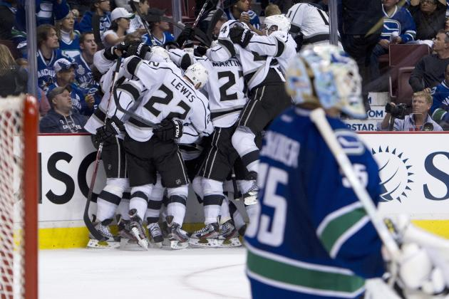 2012 NHL Playoffs: 5 Heroes from the Kings vs. Canucks Series